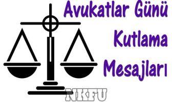Avukatlar Günü Kutlama Mesajları