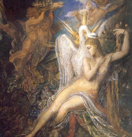 Yunan Mitolojisinde Leda