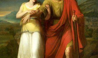 Antigone ve Kral Oedipus (Aleksander Kokular - Varşova Ulusal Müzesi)