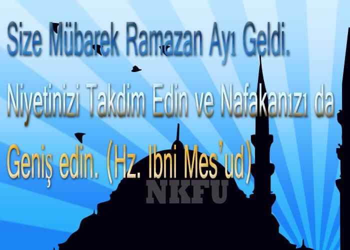 Güzel Ramazan Mesajları