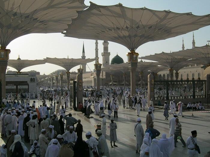 Medine Kentinden Bir Görünüm