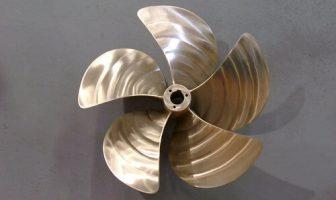 Alüminyum Tuncundan Yapılmış Pervane