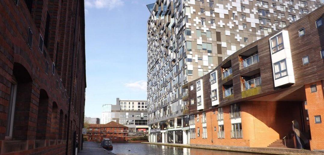 Birmingham - İngiltere (Kentten bir görünüm)
