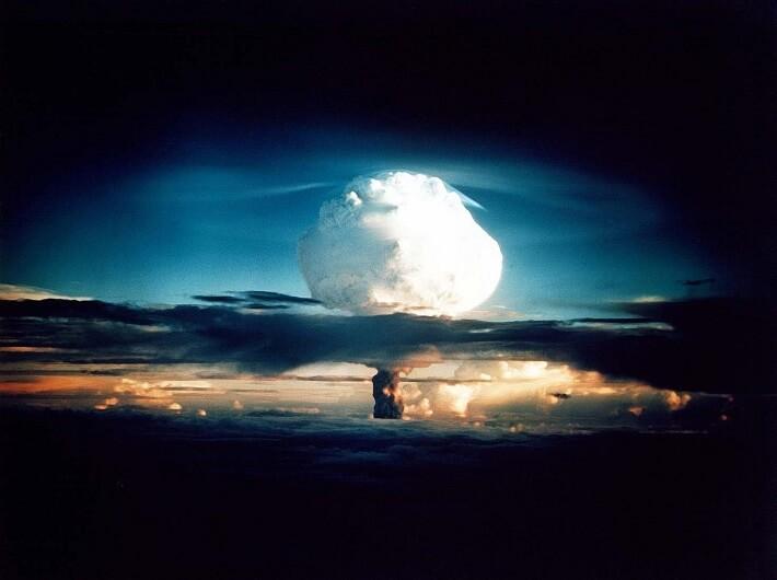 Hidrojen Bombası Patlama Anı