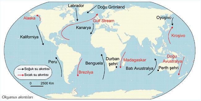 Pasifik Okyanusunun iklimi. Pasifik Okyanusunun ikliminin özellikleri