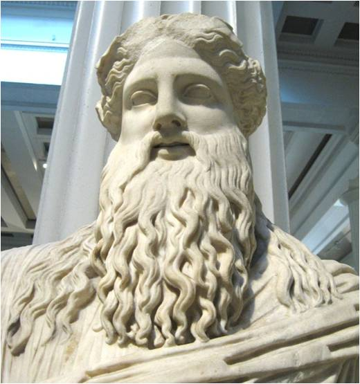 Şarap Tanrısı Dionysos Heykeli