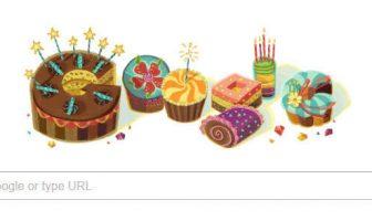 Google'dan Doğum Gününüze Özel Doodle