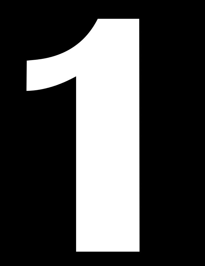 1 Sayısı (Rakamı) Boyama