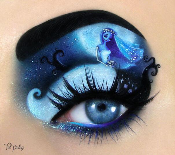 Cadılar Bayramı Göz Makyajı Fikirleri
