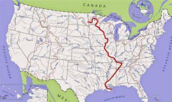 Mississippi Nehri Haritası