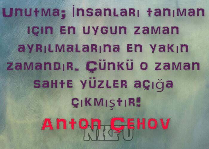 Anton Çehov Sözleri