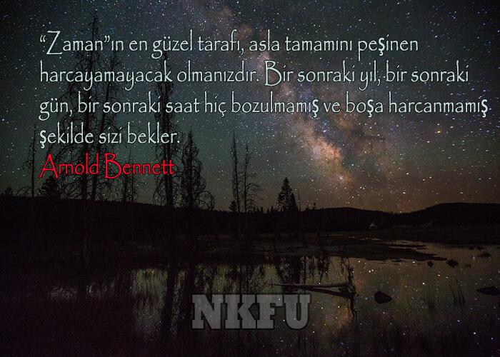 Arnold Bennett Sözleri