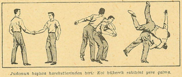 Judo Hareket