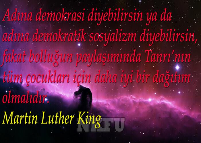 Martin Luther Sözleri