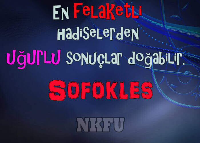 Sofokles Sözleri