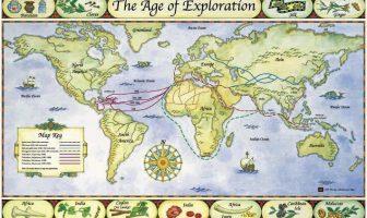 Yeni Dünya Keşifleri Haritası