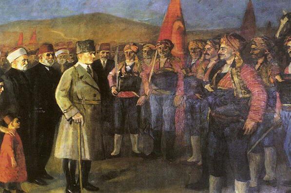 Atatürk'ün Ankara'ya Gelişi