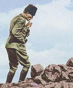 Büyük Taarruz Sırasında Atatürk