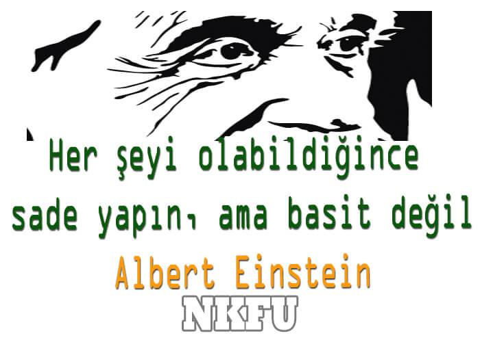 Einstein Sözleri