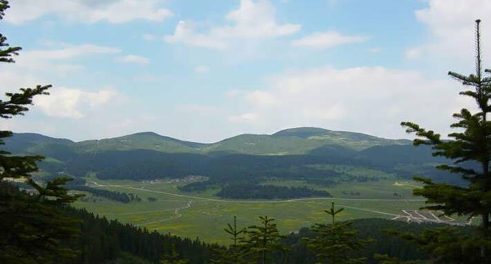 Köroğlu Dağlarından Bir Görünüm