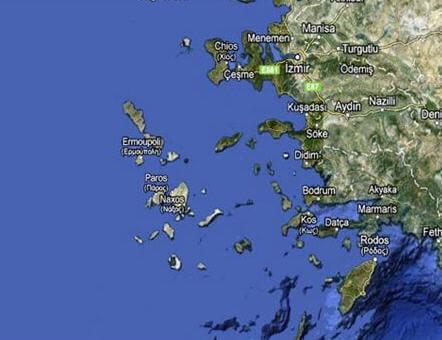 Oniki Adalar Haritası