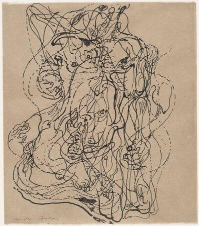 André Masson. Automatic Drawing. 1924.