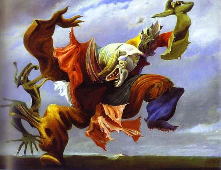 Max Ernst, L'Ange du Foyer ou le Triomphe du Surréalisme (1937)