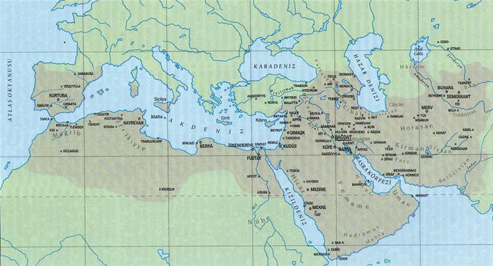 Abbasiler Devleti Harita
