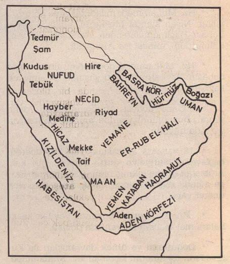 İslamiyet Öncesi Arap Yarımadası