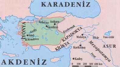 İyonya Harita