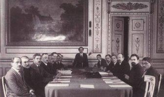 Moskova Antlaşmasını İmzalayan heyet