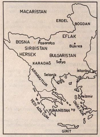 XIX. Yüzyılın İlk Yarısında Osmanlı Devleti'nin Avrupa'daki Sınırları