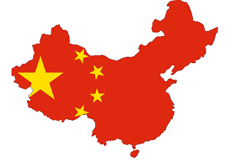 Çin harita
