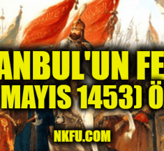 İstanbul'un Fethi (29 Mayıs 1453) Özeti