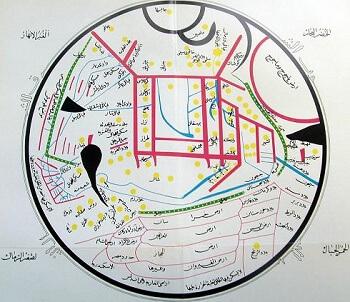 Kaşgarlı Mahmud'un dünya haritası