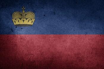 Liechtenstein Bayrağı
