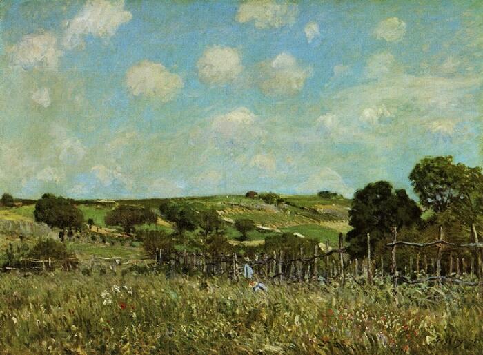 alfred-sisley-meadow