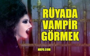 Rüyada Vampir Görmek