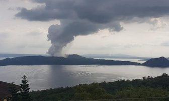 Taal Volkan Patlaması