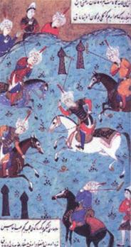 Türk kültüründe binicilik sporu (minyatür)