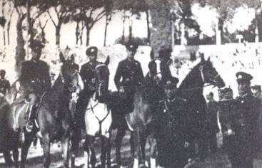 Mussolini Kupası'nı kazanan Türk binicileri ve yöneticileri