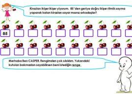Ritmik Sayma Etkinlikleri (2. Sınıflar İçin Çalışma Kağıtları Örnekler)