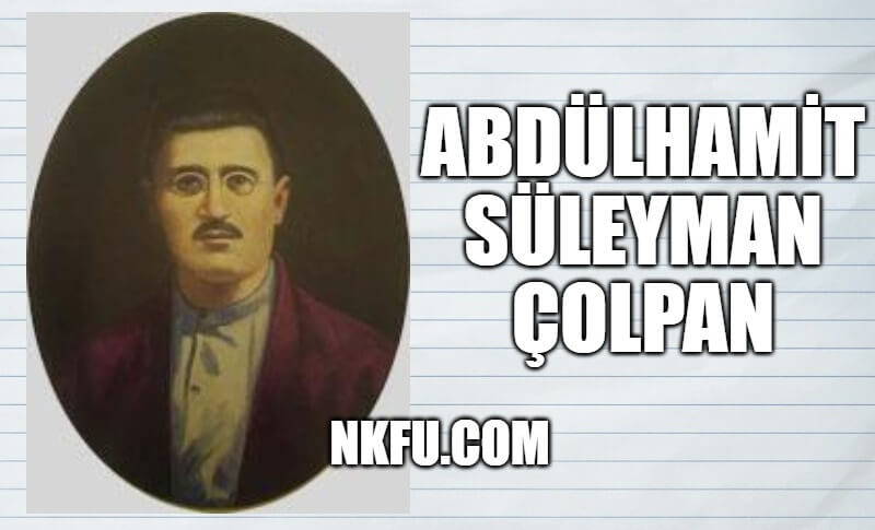 Abdülhamit Süleyman Çolpan