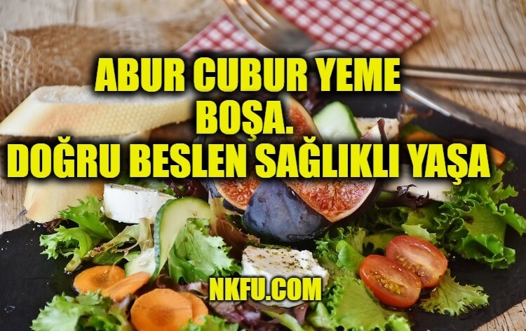 Sağlıklı ve Doğru Beslenme İle İlgili Sloganlar