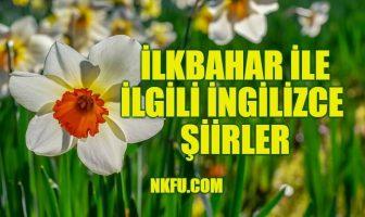 İlkbahar İle İlgili İngilizce Şiirler