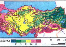 Türkiye Haritasında İklimlerin Gösterilmesi – İklim Haritalarının Yorumlanması