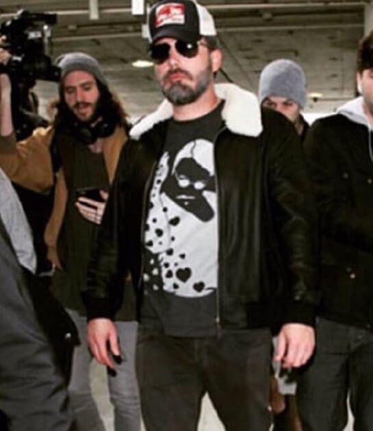 Nusret tişörtü giymiş Ben Affleck