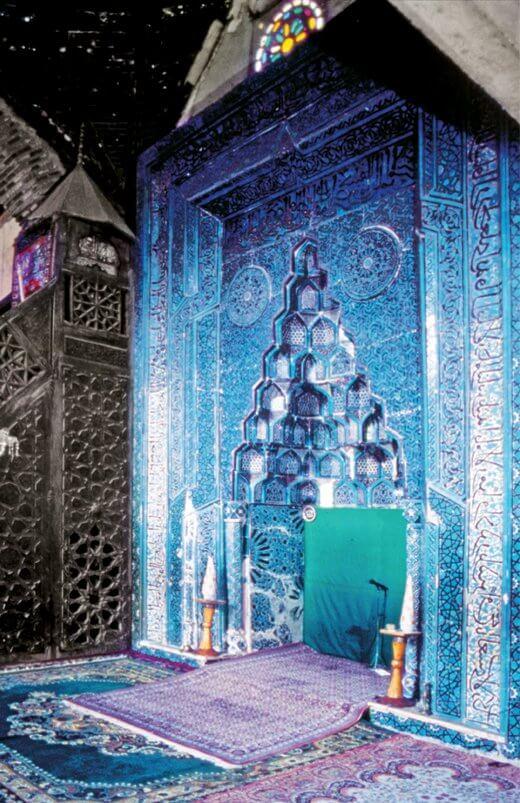 Beyşehir Eşrefoğlu Cami Mimberi