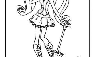 Monster High Boyama Sayfaları