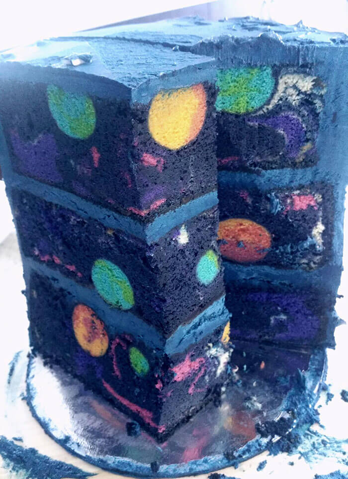 Gizli Galaksisi ile Uzay Pastası